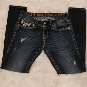 Rock and Revival Drew Skinny Jeans